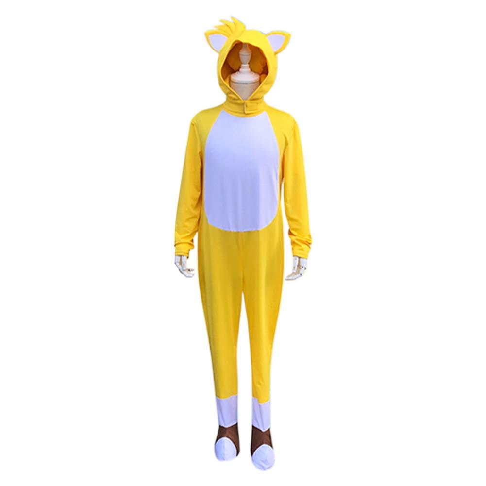 Anime Cosplay kostüm çocuk Miles güç/kuyrukları Cosplay cadılar bayramı kostüm çocuklar için çocuk noel hediyesi