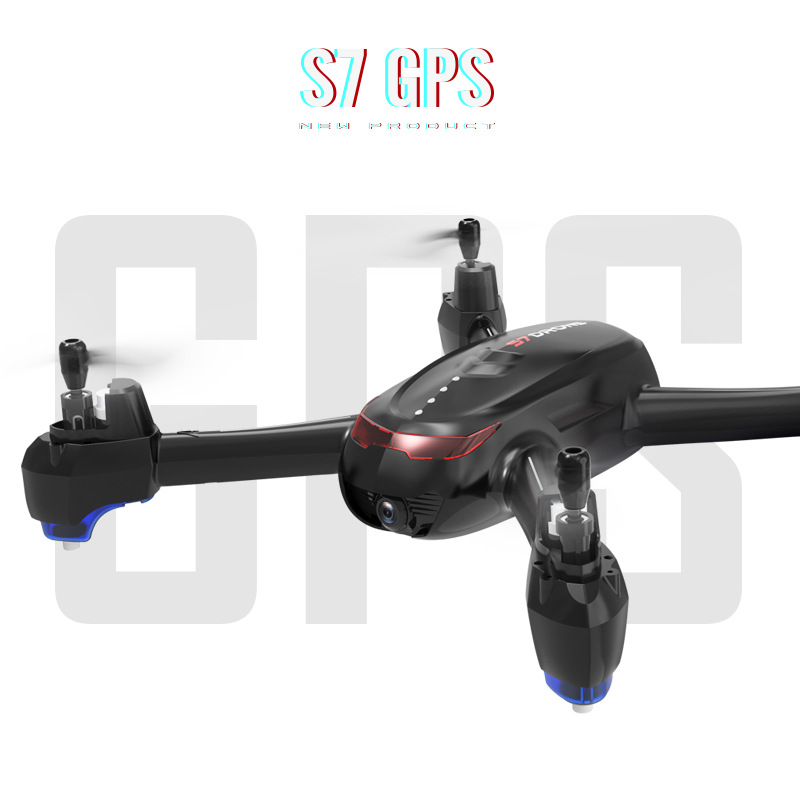 S7 Hot Sales Unmanned Aerial Vehicle High-definition Aerial Photography Remote Control Four-axis Airplane Optical Flow Positioni
