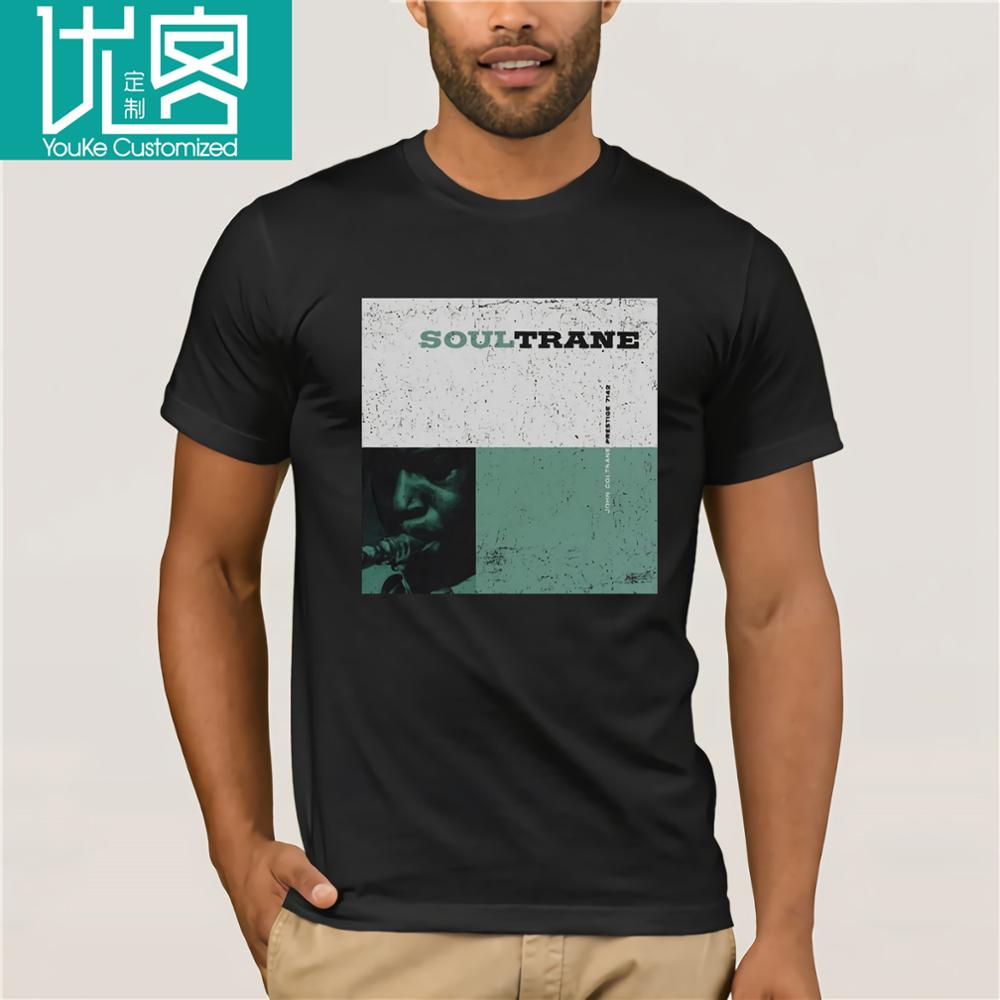 John Coltrane SOULTRANE Jazz Album Cover Adult T-Shirt All Sizes Hot Selling 100 Cotton Tee Shirts top tee image