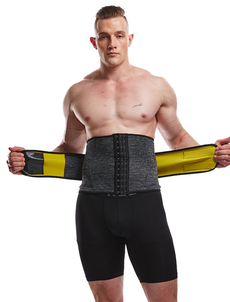 LANFEI Men's Neoprene Thermo Body Shaper Waist Trainer 22