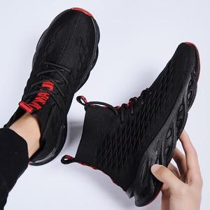 Image 5 - Męskie buty na co dzień oddychające jesień trampki mężczyźni Krasovki Tenis Masculino wysokiej góry Zapatillas lekkie sportowe buty dropshipping 2019