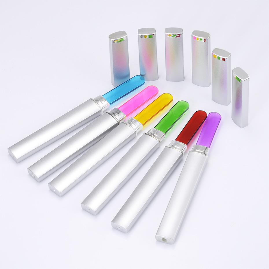 3PCS Glass Nail Files Manicure Device Nail File Buffer Cuticle Cleaner Nail Art Decorations Pro Tool