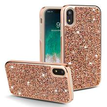 Luxury flash drill TPU phone case FOR:iphone Samsung Galaxy 6 6s 7 8 x xr xs max s8 s9 s10 note 8 9 plus phone camera lens 9 in 1 phone lens kit for iphone x xs max 8 7 plus samsung s10 s10e s9 s8