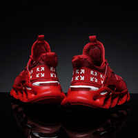 CXJYWMJL Men Sneakers Large Size 9—16 Lightweight Breathable Comfortable Fashion Training Stretch Running Shoes Casual Shoe 6857