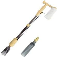 Аквариумный пылесос для очистки гравия 4 в 1 Электрический Очиститель