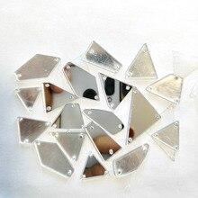 105 шт 7 форм смешанные зеркальные прозрачные поверхности женская одежда пришить хрустальные стразы камни алмаз шитье Diy для свадебного платья