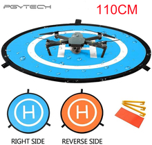 PGYTECH przenośny 110cm podkładka do lądowania Drone mata lądowisko dla Mavic powietrza 2/Mavic Pro/ Mavic 2/Mavic Mini, do DJI Phantom 3 /4