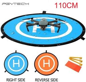 Image 1 - PGYTECH przenośny 110cm podkładka do lądowania Drone mata lądowisko dla Mavic powietrza 2/Mavic Pro/ Mavic 2/Mavic Mini, do DJI Phantom 3 /4