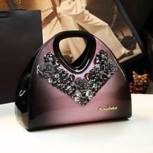 2020 spring new fashion dumpling bag leather shoulder Messenger bag female middle-aged mother bag