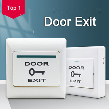 Door Exit Button Release Push Switch for access control systemc Electronic Door Lock eseye no com gate door exit button exit switch for door access control system door push exit door release button switch