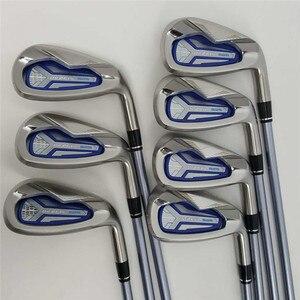 Image 2 - Clube feminino ferros de golfe honma bezeal 525 clubes de golfe com grafite l flex 6 11.sw 7 peça frete grátis