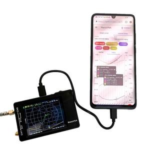 Image 5 - محلل شبكة من NanoVNA H 50 كيلو هرتز ~ 1.5 جيجا هرتز VNA HF VHF UHF UV محلل هوائي محلل + بطارية + LCD + علبة بلاستيكية الشحن مجاني
