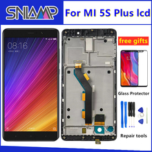 """Originale Per 5.7 """"Xiao mi 5S Plus mi 5S Plus mi 5 s PLUS Lcd SCREEN Display + touch pannello Digitizer Con Telaio Per Xiao mi mi 5 s PLUS"""
