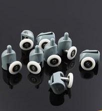 8pcs Diameter 20mm Shower Door Rollers/Runners/Wheels shower room pulley Replacement 4top +4bottom