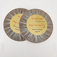 1 roll 36 yards Double side adhesive hair extensions tape TATA hair extension support tape for tape hair extension