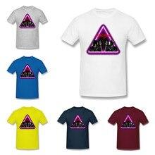 Unisex Tee kaliteli erkek baskı kısa kollu O boyun T gömlek yaz Tees Tops Yeni Daft Punk harika artı boyutu crewneck Homme T
