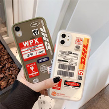 DHL, горячая Распродажа, 50-й юбилейный чехол с этикеткой для iPhone 11 Pro X XS MAX 7 8 plus, роскошный мягкий жесткий чехол с защитой от падения