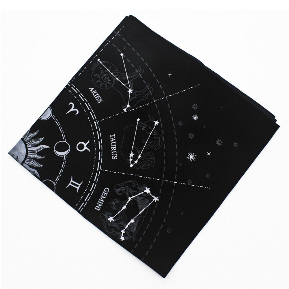 Tarot Special Tablecloth 12 Constellations Astrology Tarot Divination Card