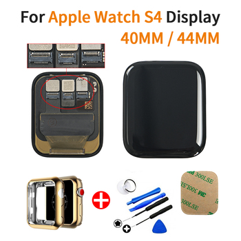 LTE/ GPS  For Apple Watch Series 4 LCD Touch Screen Digitizer Assembly For Watch Series 4 LCD with Adhesive+TPU Cover+Tools