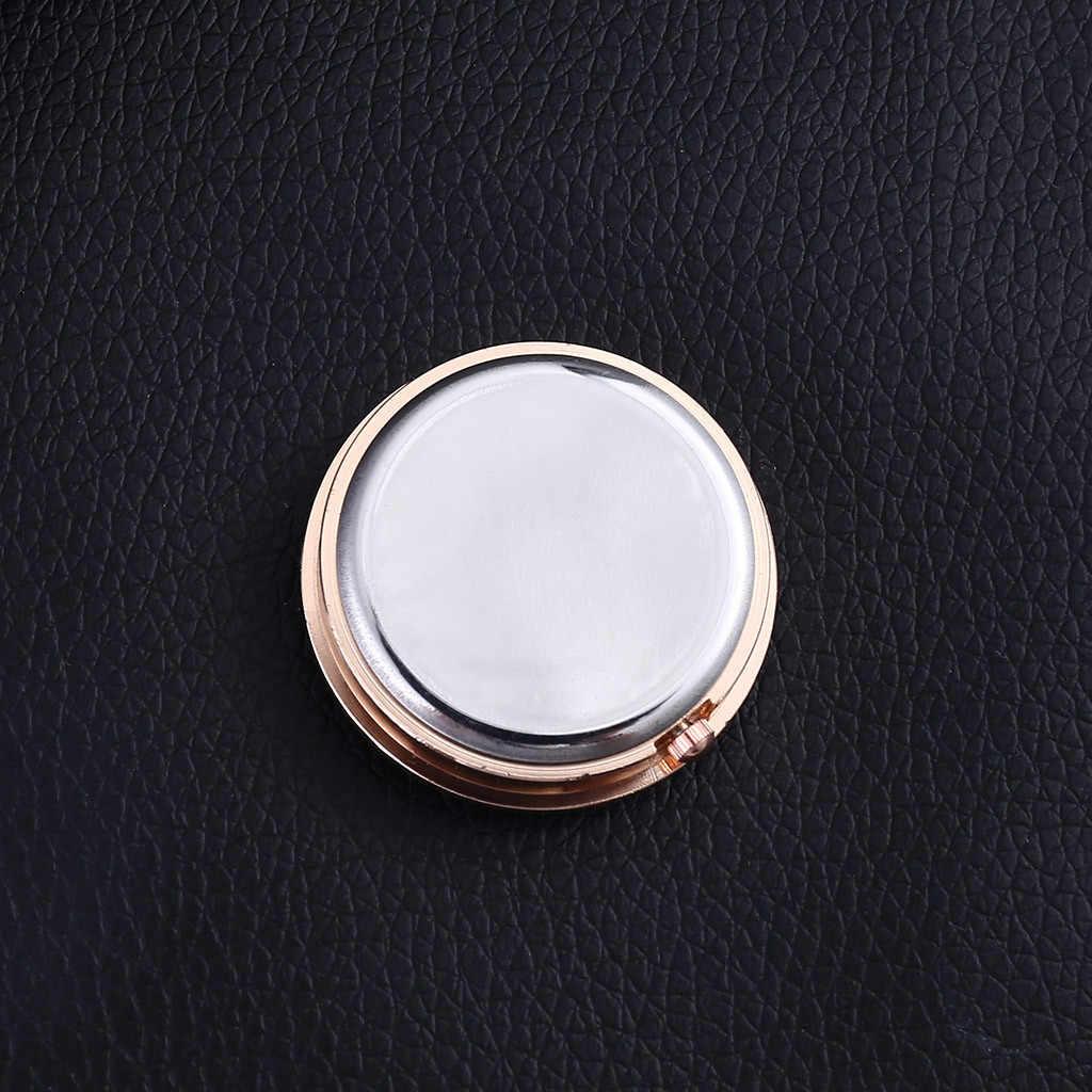 Nova decoração de carro moderno medidor eletrônico relógio de carro auto interior ornamento calendário metal vidro 7x5.5x2 cm. 19OCT29