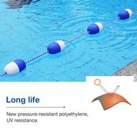5M Floating Rope Durable Swimming Pool Waterways Safety Divider Rope Swimming Pool Accessories Security Line Pool Supplies Swim4