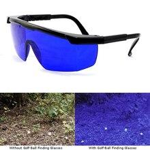 Очки для поиска гольфа, профессиональные очки для поиска мячей для гольфа, спортивные солнцезащитные очки подходят для бега, вождения гольфа, синие линзы