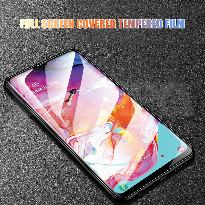 9D Protective Glass on the For Samsung Galaxy A10 A30 A40 A50 A60 Screen Protector For Samsung A70 A80 A90 Glass M10 M20 M30 M40