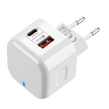 For iPhone 12 Mini 11 Pro XR XS Max Samsung Xiaomi 18W PD Type C USB Fast Charger Power wall Phone Adapter US EU UK 20W Quick