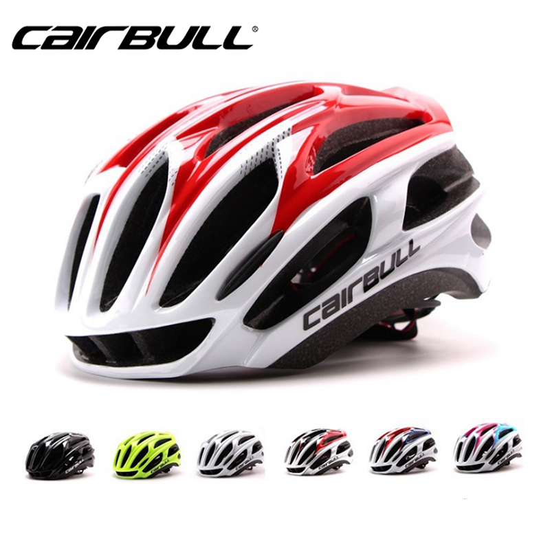 CAIRBULL Bike Helmet Soft Ultralight Cycling EPS Integrally-molded bicycle Helmet Head casco bicicleta safty cap With light title=