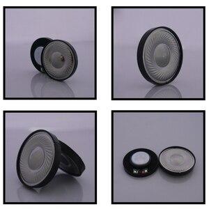 Image 3 - 2 pièces 40mm casque haut parleur 0.1W 32ohm casque cornes bricolage HIFI sans fil Bluetooth casque cornes titane haut parleurs