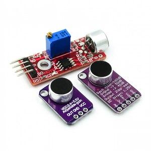 Электретный микрофон усилитель стабильный MAX9814 модуль автоматического управления усилением MAX4466