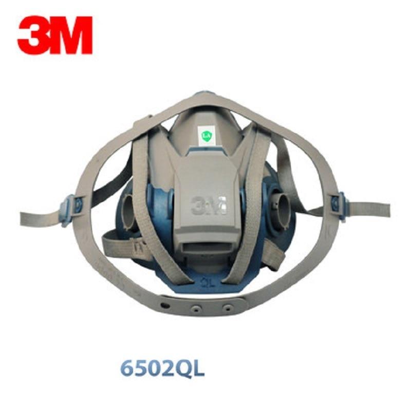 3m 6502 half mask respirator medium rugged comfort