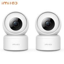 Home Security Kamera IMILAB C20 Indoor Sicherheit WiFi Kamera mit Nachtsicht, 2-Weg Audio, funktioniert mit Alexa, Motion-Tracking
