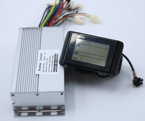 alta qualidade 48 60v1500w ebike controlador com sw900 display lcd um