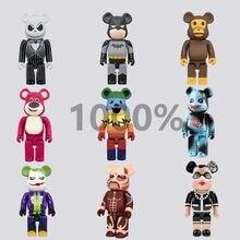 Bearbricklys 70Cm 1000% Beer & Bricklys Bouwstenen Beer Speelgoed Anime Action Figures Pop Kits Verf Poppen Kinderen Speelgoed
