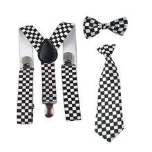 Новые подтяжки для девочек и мальчиков, галстук-бабочка, регулируемый галстук-бабочка, Y-Back, подтяжки, галстук, вечерние, свадебные, для 1-8 лет, HHtr0004a04