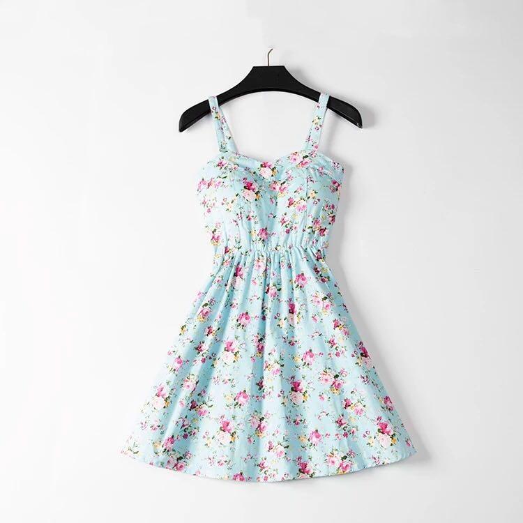 Marwin 19 New Off shoulder ruffle Dot summer Dress women white strap chiffon beach Boho party sexy dresses vestido furits 15