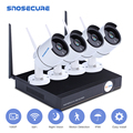 SNOSECURE H.265 4CH 8CH 1080P Wireless NVR Kit Wifi Sicherheit System 2MP Outdoor CCTV IP Kamera P2P Video Überwachung set|Überwachungssystem|Sicherheit und Schutz -