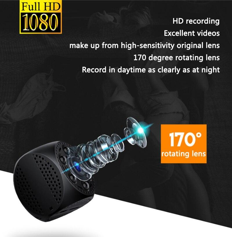 Image 3 - Vandlion Mini Camera Video Cam Voice Recorder Night Vision  Recording Mini Camcorder Digital Recorder A10Mini Camcorders   -