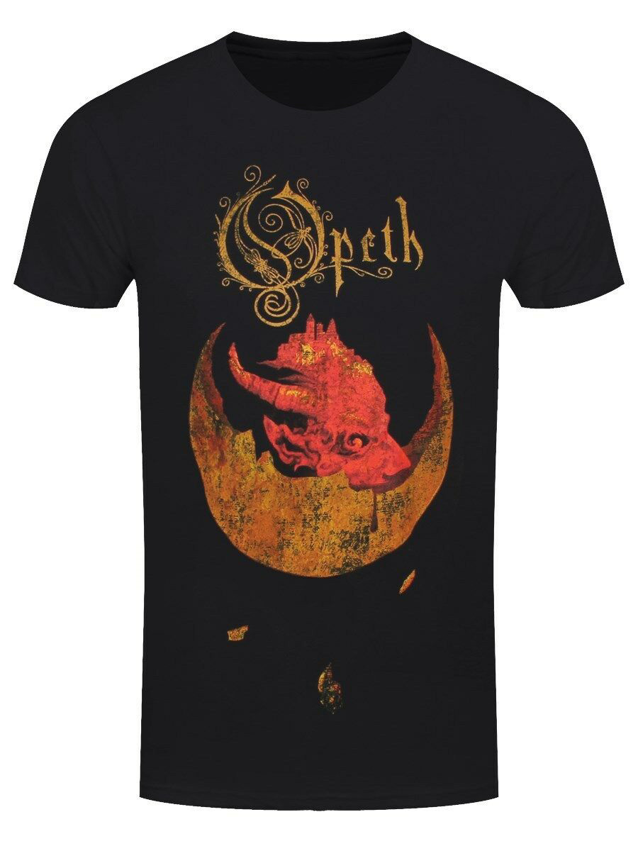 T-Shirt Opeth /'Devil/' Black NEW /& OFFICIAL!