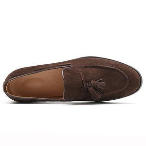 Image 3 - 37 48 men casual shoes moccasins classic fashion luxury elegant Comfortable Plus Size Breathable Brand loafers men #181