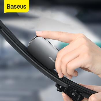 Baseus pióro wycieraczki samochodowa naprawa uniwersalna Auto wycieraczka szyby przedniej Refurbish narzędzie pióro wycieraczki szyby przedniej samochodu wycieraczka szyby przedniej ostrze zestaw naprawczy akcesoria tanie i dobre opinie CN (pochodzenie) parkowania Aluminum Alloy 2019 Double Sanding Strip 1 3cm windshield wiper blade repair 6 5cm 38*13*65mm