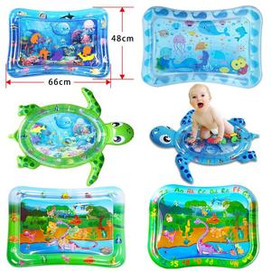 2020 new Baby Kids Water Play Mat Inflatable PVC Infant Tummy Time Playmat Toddler Water Pad For Baby Fun fish toy for children