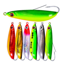 1PCS Big Spoon Fishing Lure Minnow 90mm 20g Anti-hitch Crankbaits Metal Spinner Hard Bait Wobblers Jerkbait pesca Pike Bass