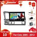 Автомобильная магнитола Jansite, мультимедийный плеер на Android 10,0, с 10