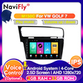 10.1inch Octa Core 4G RAM 64G ROM Android10.0 Car Multimedia player for VW Volkswagen Golf 7 Auto GPS Navigator DSP IPS Screen
