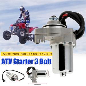 GMS 3 болта ручной Электрический миксер для теста стартовый двигатель 12В высокого качества для 50cc 70cc 90cc 110cc 125cc 4 тактный двигатель мотоцикла в...