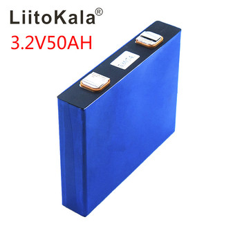 LiitoKala 3.2v 50Ah lifepo4 cells 3.2v lifepo4 lithium batteries for electric bike battery pack solar energy system