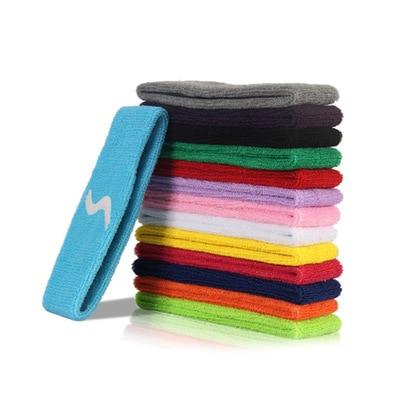 Breathable Yoga Hair Ribbon Sweatband Gym Fitness Sports Headbands Footaball Yoga Socer Running Hair Elastic Band For Women Men