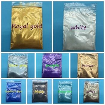 20g proszek perłowy do makijażu proszek perłowy pigment kosmetyczny 40 kolorów proszek mica do brokatu do paznokci jedna partia = 20g = jeden kolor tanie i dobre opinie buytoes 1bag pearl powder Paznokci brokat RR020